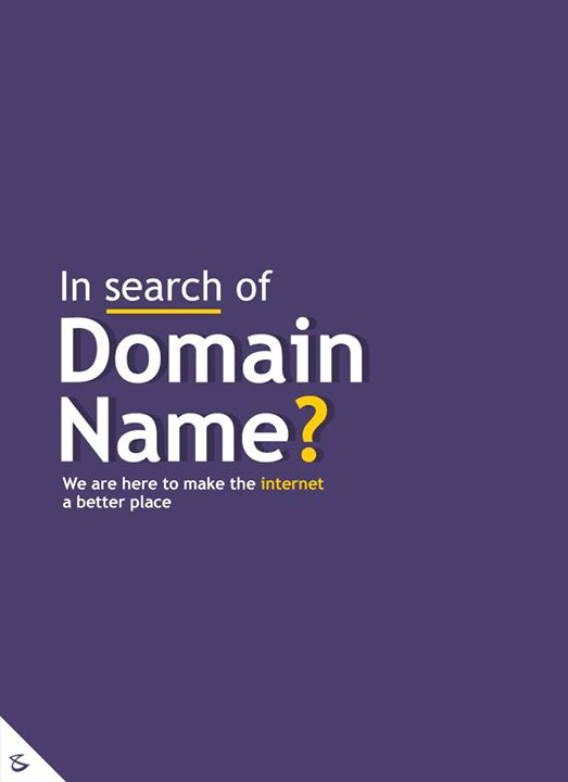 In search of Domain Name?  #CompuBrain #Business #Technology #Innovations #DigitalMediaAgency #Domain #DomainRegistration