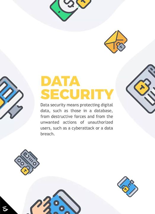 Data security is must!  #CompuBrain #Business #Technology #Innovations #DigitalMediaAgency #DataSecurity