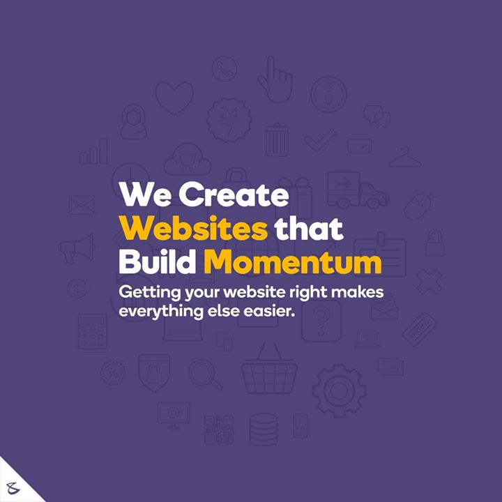 Getting your website right makes everything else easier.  #Business #Technology #Innovations #CompuBrain #BrandingAgency #DigitalMediaAgency #WebsiteDesigning