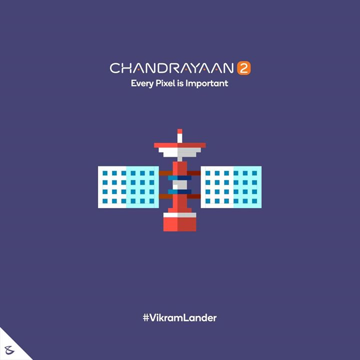 Every Pixel is Important  #Business #Technology #Innovations #CompuBrain #VikramLander #ISRO #Chandrayaan2 #NASA