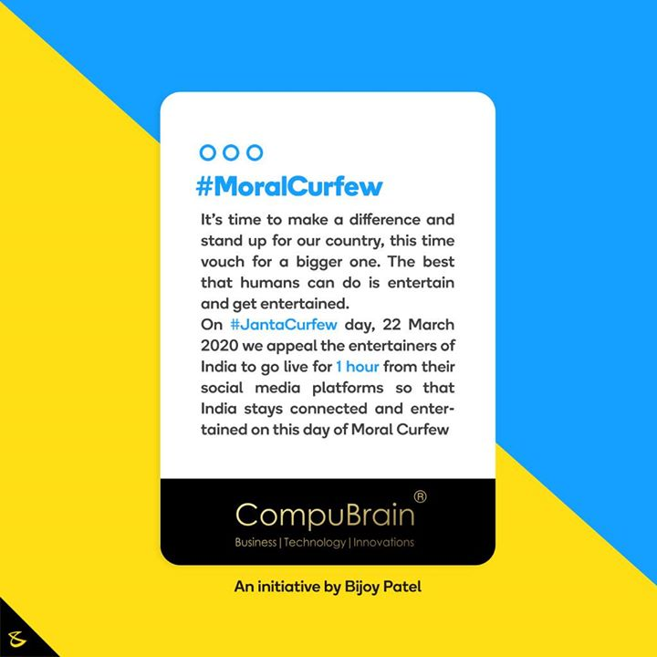 Hiren Doshi, Director of operations at CompuBrain my core function is to bond the three pillars at CompuBrain: Business, Technology and Innovations