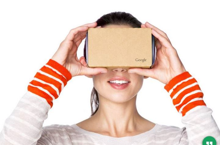 Get it, fold it and look inside to enter the world of Cardboard. It's a VR experience starting with a simple viewer anyone can build or buy. Once you have it, you can explore a variety of apps that unfold all around you. Visit new places, play immersive games, fly through space and more in the #NEXTGEN #Technology