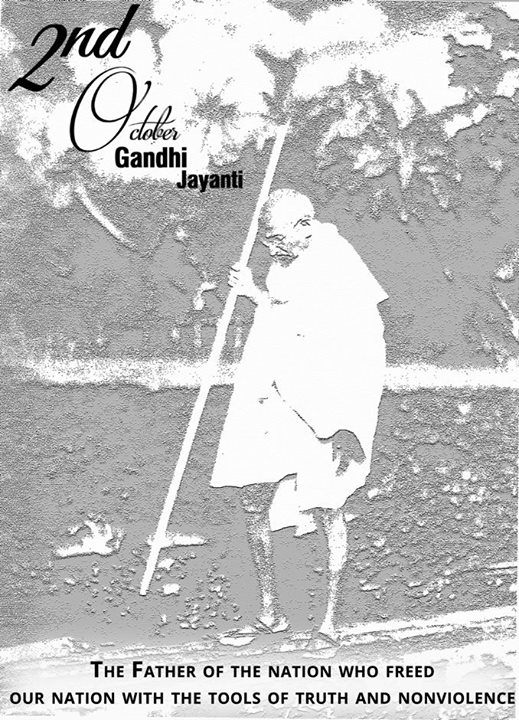Let's Instigate the spirit of truth and non-violence in our soul on Gandhi Jayanti.   #GandhiJayanti #Peace #Nonviolence #CompuBrain #Ahmedabad