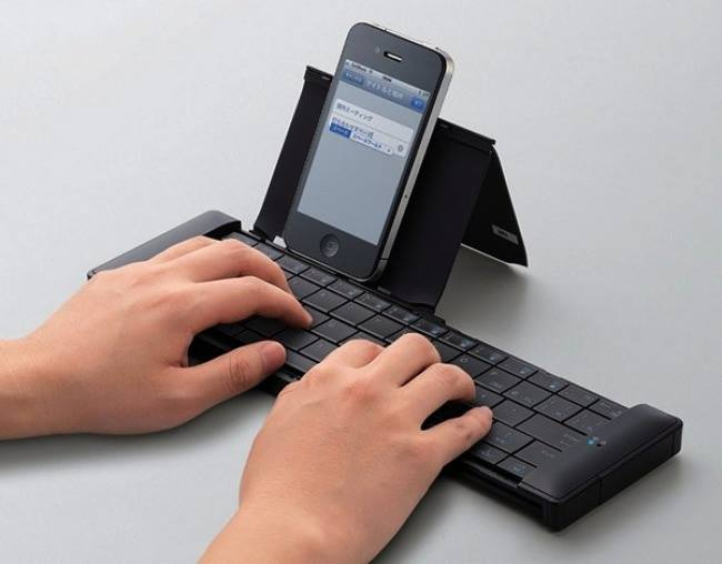 Although this device is not very new, it's worth mentioning in our list. This well-made and highly portable keyboard is great for typing documents and helps with surfing the net.
