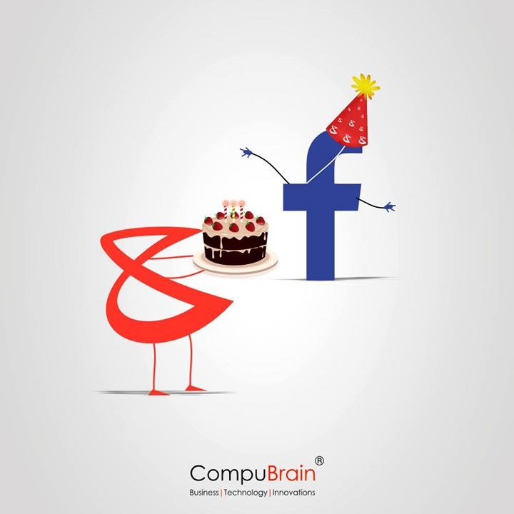 Happy Friends Day!  #HappyBirthDay #Facebook #Facebookturns12 #CompuBrain #Greetings