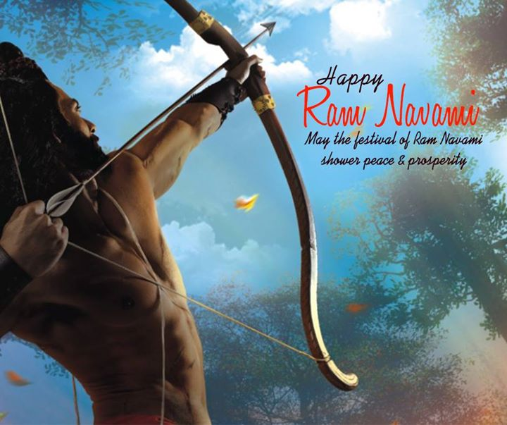 With Gleam of Diyas and the Echo of the Chants, May Happiness and Contentment fill your Life  #RamNavami #Wishes #CompuBrain