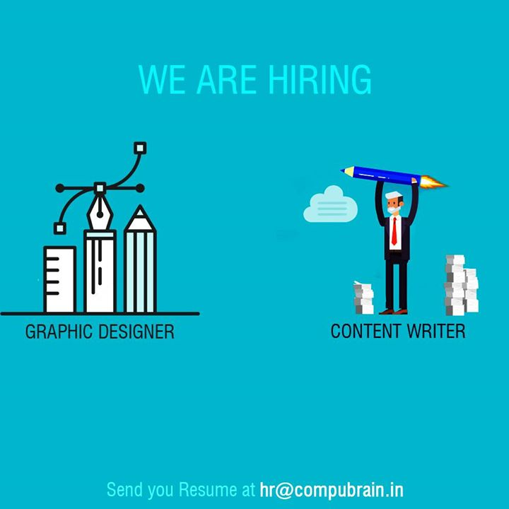 We're looking for creative and talented content writers &  highly talented Graphic Designer with excellent interpersonal skills. #Designer #WeAreHiring #GraphicDesigner #ContentWriter