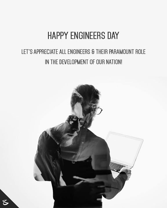 Happy Engineers Day   #Engineers #EngineersDay #TeamCompuBrain #Innovations