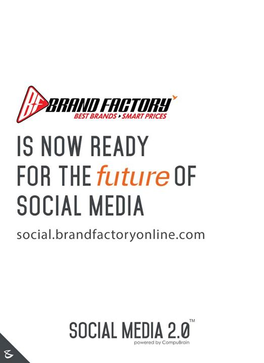 Social Media 2.0 is proud to welcome Brand Factory on board.  https://social.brandfactoryonline.com/  #SocialMedia2p0 #DigitalConsoldiation #BrandFactory #CompuBrain #sm2p0 #contentstrategy #SocialMediaStrategy #DigitalStrategy