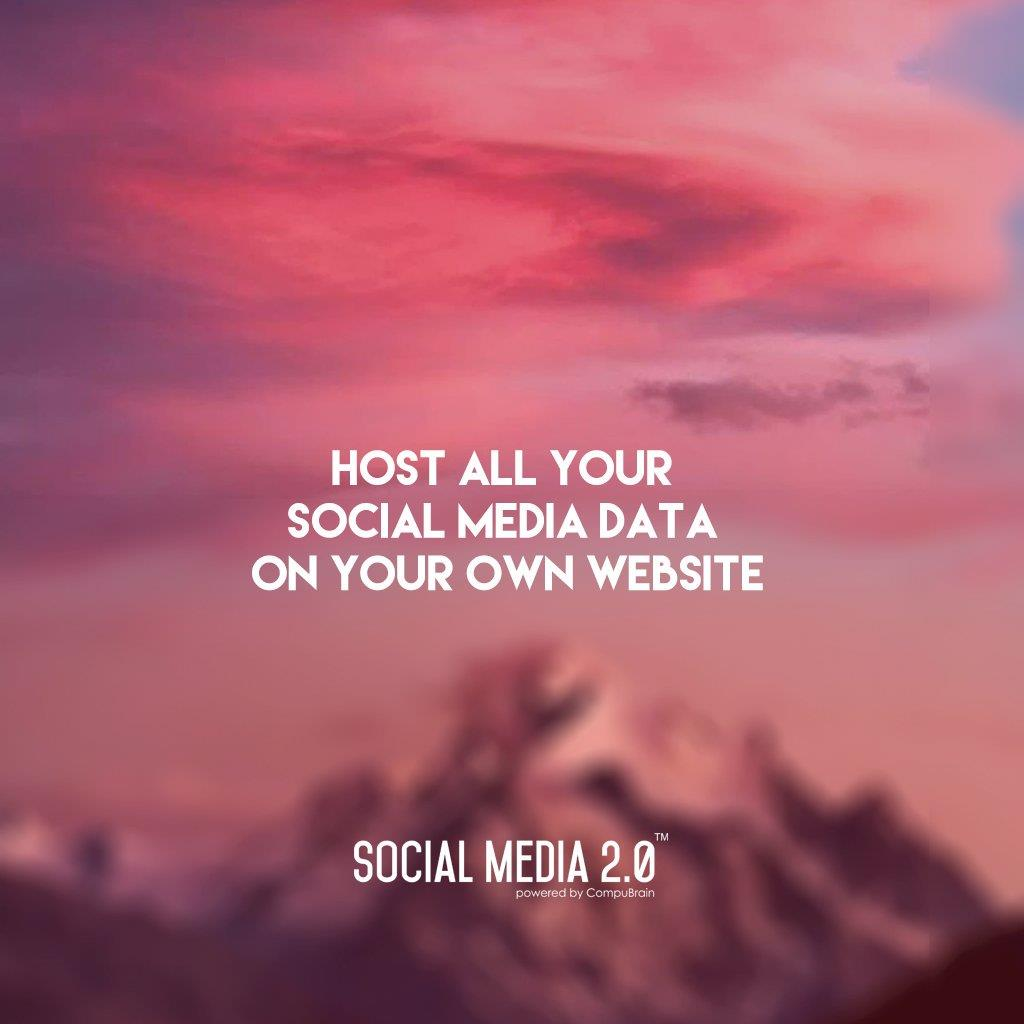 Host all your #SocialMediaData on your #website!  #Consolidation #SocialMedia #SocialMedia2p0 #DigitalConsolidation #CompuBrain #sm2p0 https://t.co/F789X7hgYx