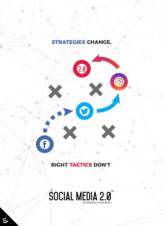 Strategies Change, Right #Tactics Don't  #SearchEngineOptimization #SocialMedia2p0 #sm2p0 #contentstrategy #SocialMediaStrategy #DigitalStrategy #DigitalCampaigns #CompuBrain #Business #Technology #Innovations