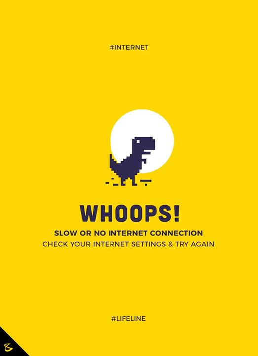 :: Whoops! you are offline ::  #Business #Technology #Innovations #CompuBrain #Internet #LifeLine