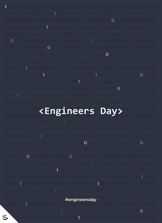 :: Happy Engineers Day ::  #Business #Technology #Innovations #CompuBrain #EngineersDay #EngineersDay2018
