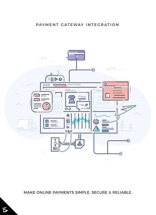 Make Online payments simple, secure & reliable.  #Business #Technology #Innovations #CompuBrain #PaymentGatewayintegration #PaymentGateway