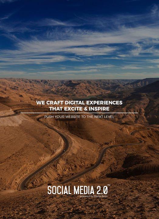 We craft digital experiences that excite & inspire  #SearchEngineOptimization #SocialMedia2p0 #sm2p0 #contentstrategy #SocialMediaStrategy #DigitalStrategy #DigitalCampaigns
