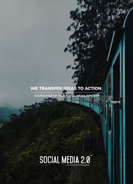 We transfer ideas to action.  #SearchEngineOptimization #SocialMedia2p0 #sm2p0 #contentstrategy #SocialMediaStrategy #DigitalStrategy #DigitalCampaigns