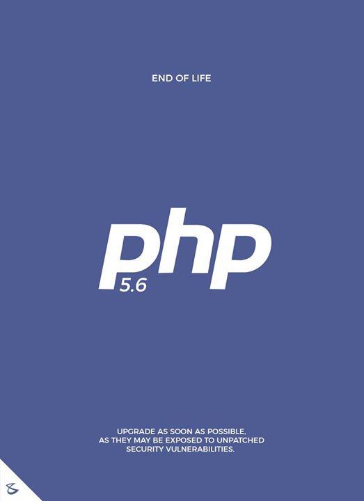 Developer Alert!!  #CompuBrain #Business #Technology #Innovations #DigitalMediaAgency #PHP5x #EndOfLife #Programmers #Developers