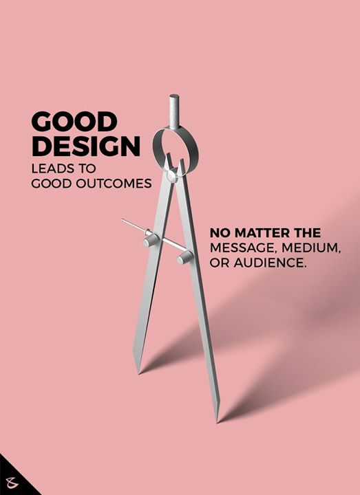 Good design leads to good outcomes  #CompuBrain #Business #Technology #Innovations #SocialMediaAgency #Design