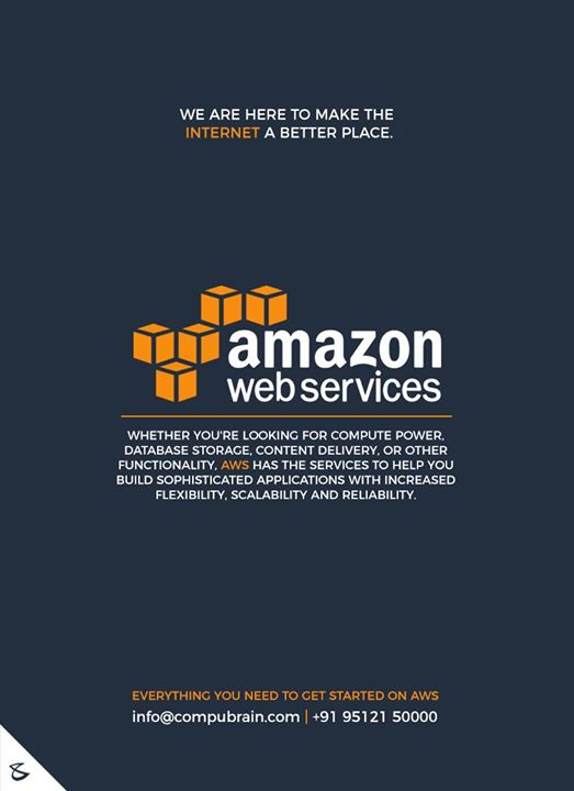 Everything you need to get started on AWS  #CompuBrain #Business #Technology #Innovations  #DigitalMediaAgency #AWS #AmazonWebServices #Cloud #CloudHosting #Hosting