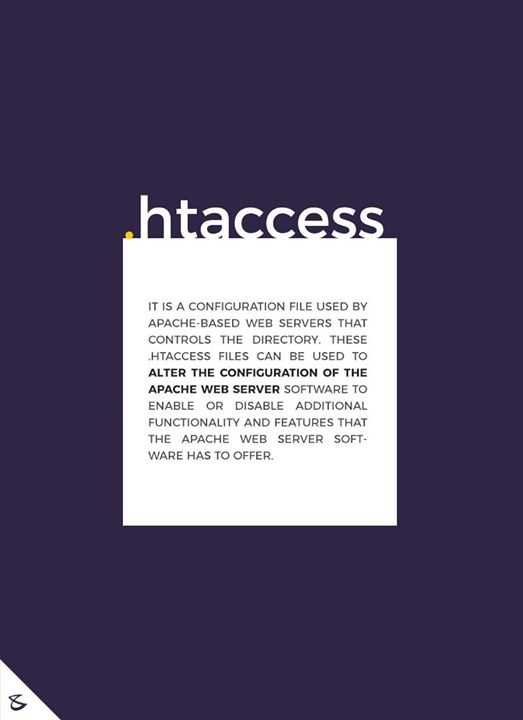 The functionality of .htaccess file  #CompuBrain #Business #Technology #Innovations  #DigitalMediaAgency #Programming #Developers #Webserver