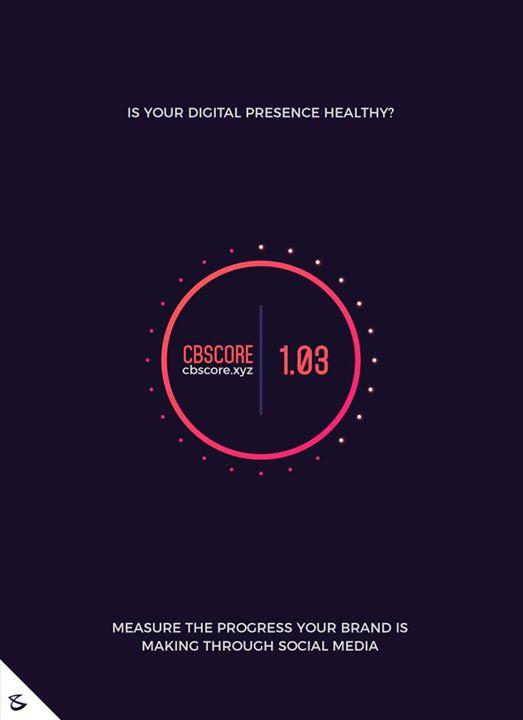 Is your digital presence healthy?  Visit: https://cbscore.xyz/  #CompuBrain #Business #Technology #Innovations  #DigitalMediaAgency #CBScore