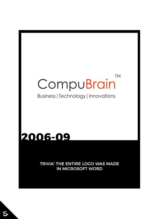 CompuBrain's logo journey!  #CompuBrain #Business #Technology #Innovations #DigitalMediaAgency #Logo