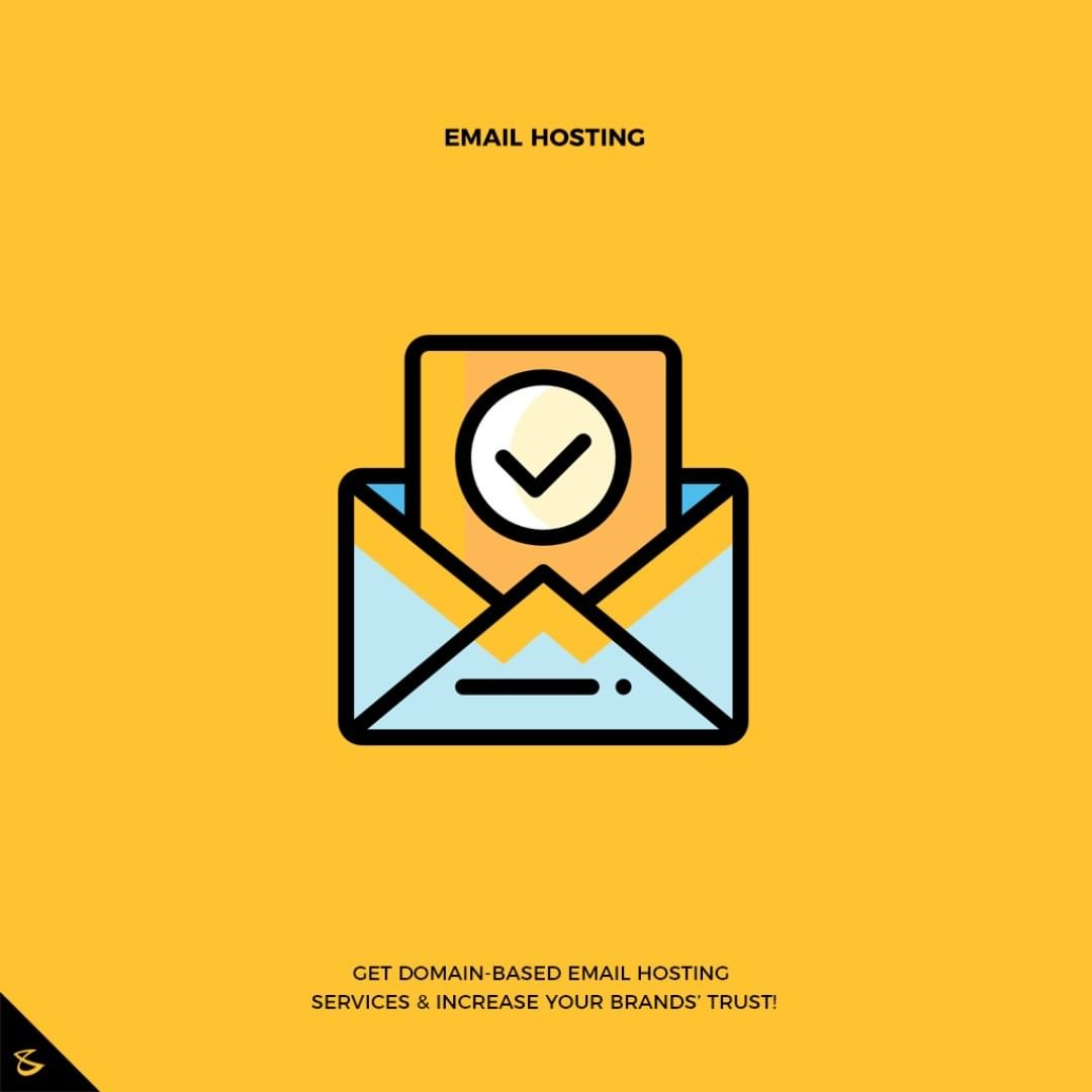 Promote your business with email that matches your domain.  #CompuBrain #Business #Technology #Innovations #DigitalMediaAgency #EmailHosting #Email