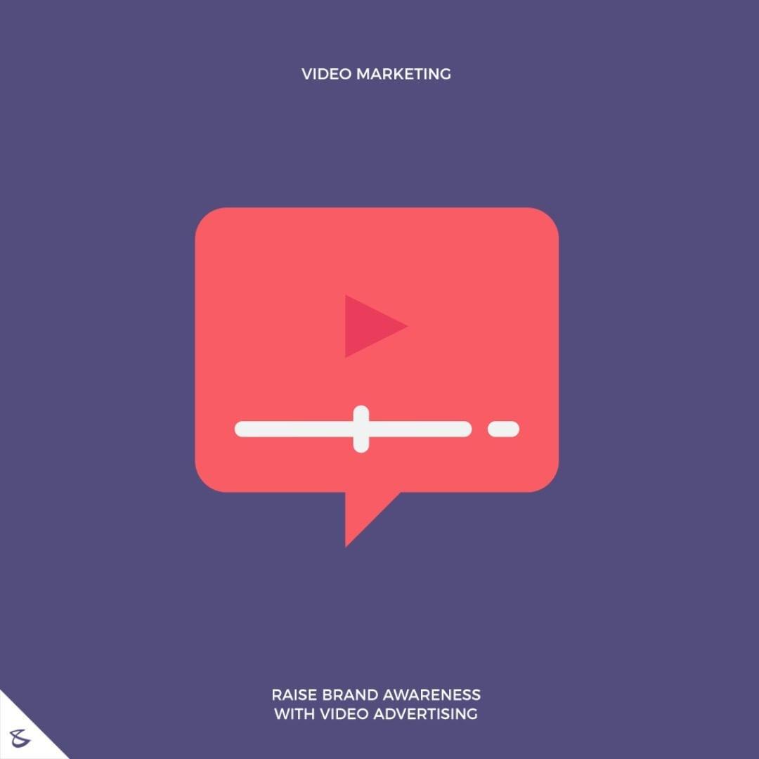 Raise brand awareness with video advertising  #CompuBrain #Business #Technology #Innovations #SocialMediaAgency #VideoMarketing