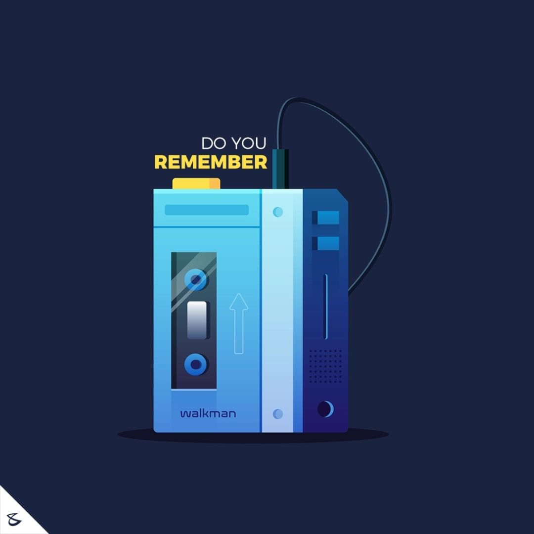 Do you remember?  #CompuBrain #Business #Technology #Innovations  #WalkMan