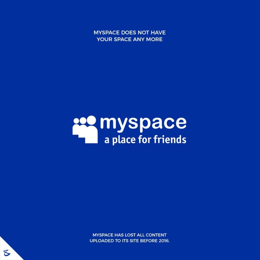 Myspace does not have your space any more  #CompuBrain #Business #Technology #Innovations  #DigitalMediaAgency #MySpace