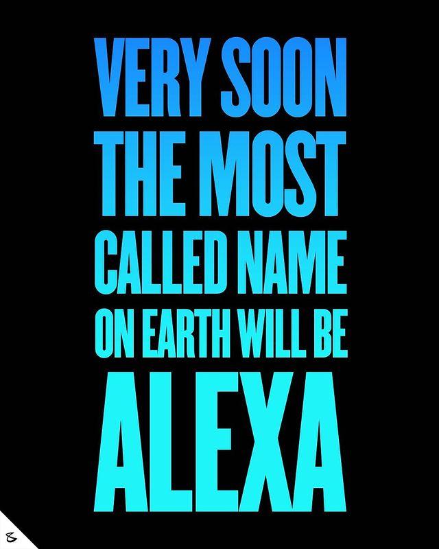 Alexa..are you enjoying the limelight?  #CompuBrain #Business #Technology #Innovations #Marketing #SocialMedia #Digital #Alexa #Amazon