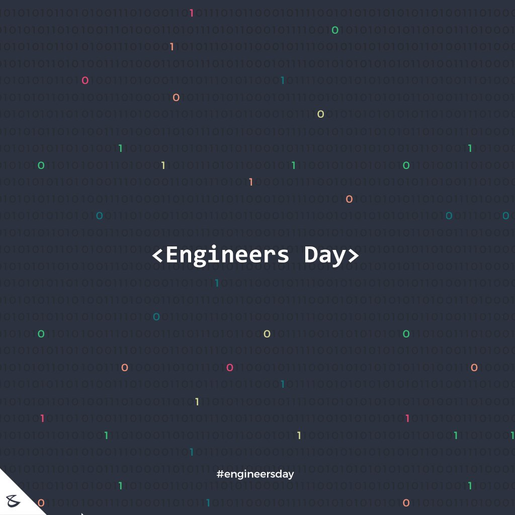 :: Happy Engineers Day ::  #Business #Technology #Innovations #CompuBrain #EngineersDay #EngineersDay2018 https://t.co/6uWABRzQcr