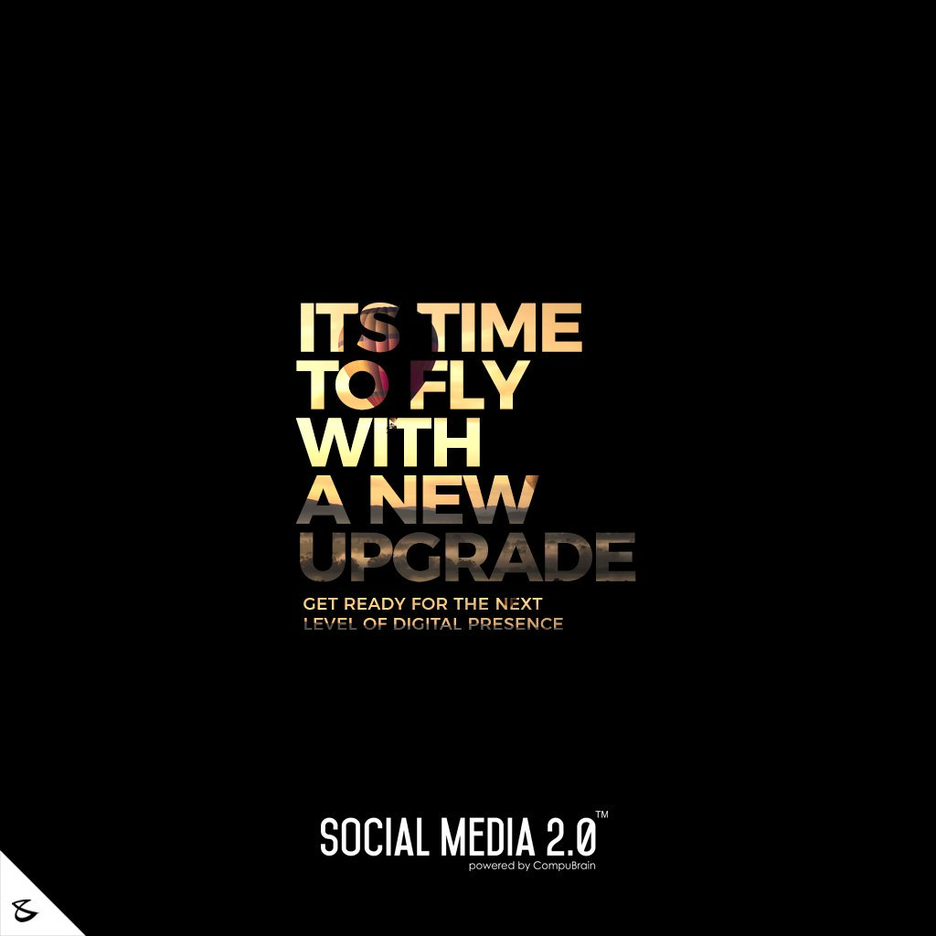 Its time to fly with a new upgrade  #SearchEngineOptimization #SocialMedia2p0 #sm2p0 #contentstrategy #SocialMediaStrategy #DigitalStrategy #DigitalCampaigns #DigitalAgencyIndia #CompuBrain #Business #Technology #Innovations #India https://t.co/BJaH7ikcrX