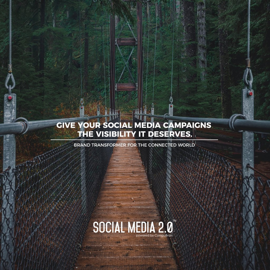 Give Your Social Media Campaigns The Visibility it Deserves.  #SearchEngineOptimization #SocialMedia2p0 #sm2p0 #contentstrategy #SocialMediaStrategy #DigitalStrategy #DigitalCampaigns https://t.co/zYUoBjPQYF