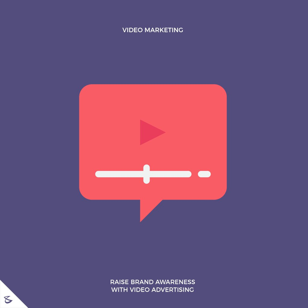 Raise brand awareness with video advertising  #CompuBrain #Business #Technology #Innovations #SocialMediaAgency #VideoMarketing https://t.co/9Qx2j6mJE0