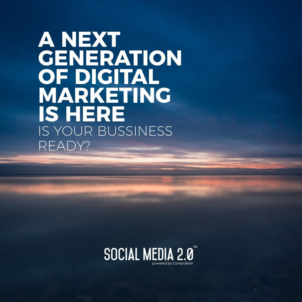 A next generation of digital marketing is here  #SearchEngineOptimization #SocialMedia2p0 #sm2p0 #contentstrategy #SocialMediaStrategy #DigitalStrategy #DigitalCampaigns https://t.co/FRDleCfrd2