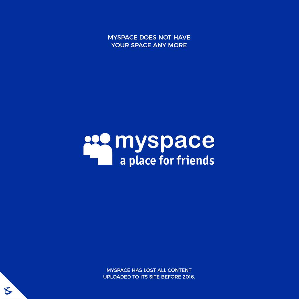 Myspace does not have your space any more  #CompuBrain #Business #Technology #Innovations  #DigitalMediaAgency #MySpace https://t.co/NStJgrZ0KO