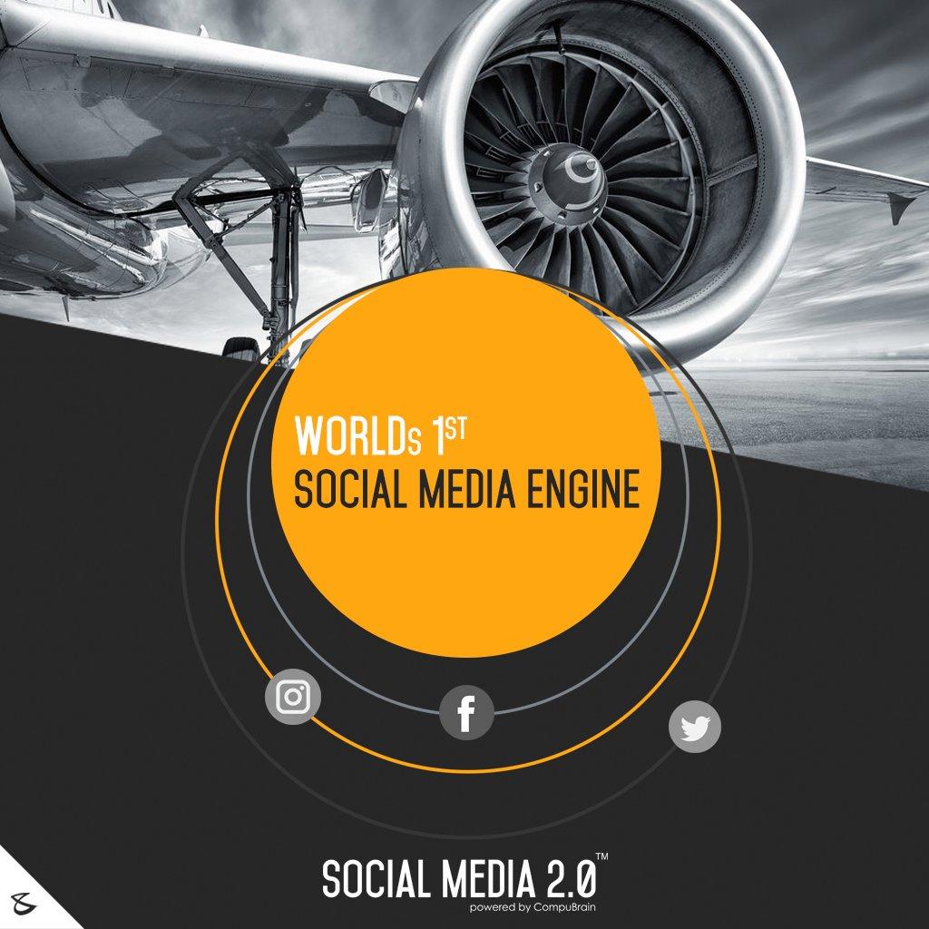 World's 1st #SocialMediaEngine! #SocialMedia2p0 #DigitalConsolidation #CompuBrain #sm2p0  #SocialMediaStrategy #DigitalStrategy https://t.co/H8SF1m5Zue