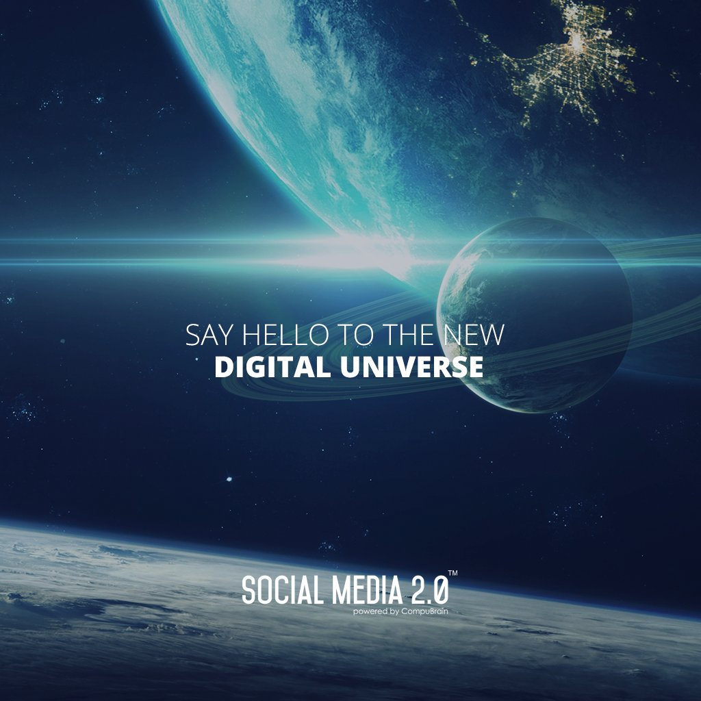 Say hello to the new Digital Universe.   #Consolidation #SocialMedia #SocialMedia2p0 #DigitalConsolidation #CompuBrain #sm2p0 #contentstrategy #SocialMediaStrategy #digitalstrategy https://t.co/1xk5tjgjj9