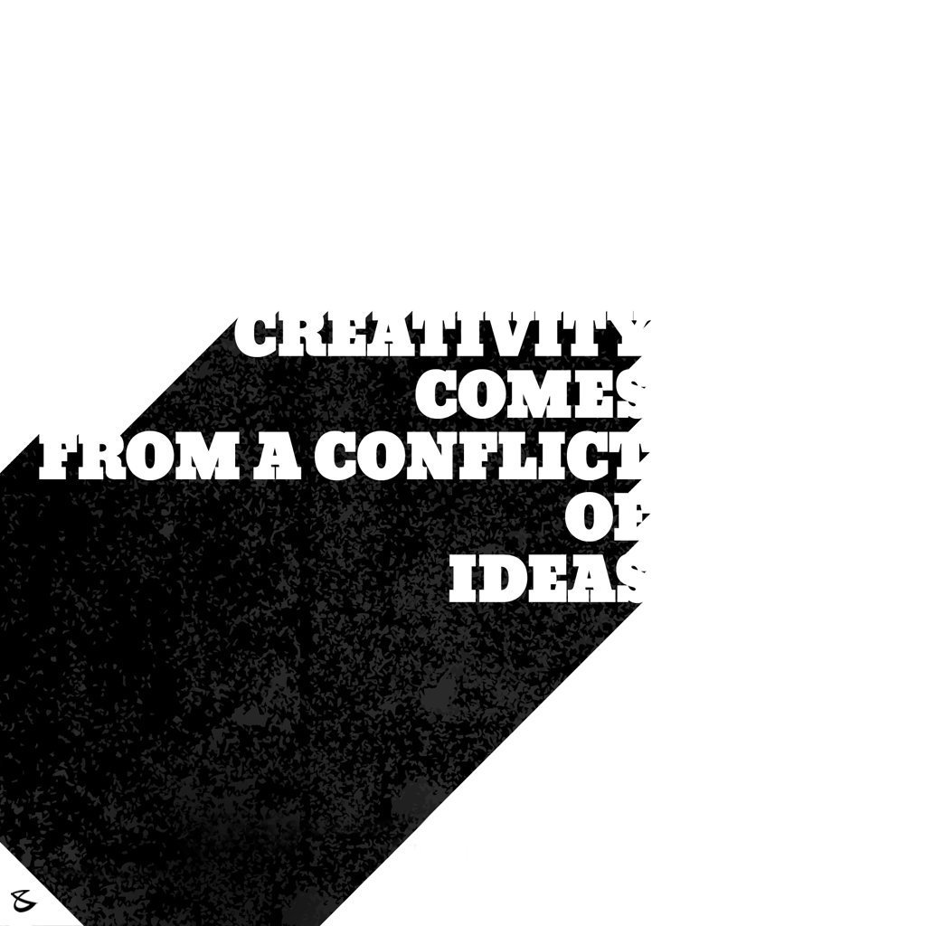 #Creativity comes from a conflict of **I D E A S** #CompuBrain #Business #Technology #Innovations https://t.co/0yOTL3nrNx
