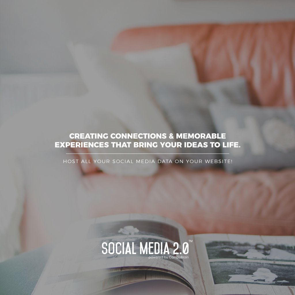 Creating Connections & Memorable Experiences that bring your ideas to life.  #SearchEngineOptimization #SocialMedia2p0 #sm2p0 #contentstrategy #SocialMediaStrategy #DigitalStrategy #DigitalCampaigns https://t.co/axe54nkY4L