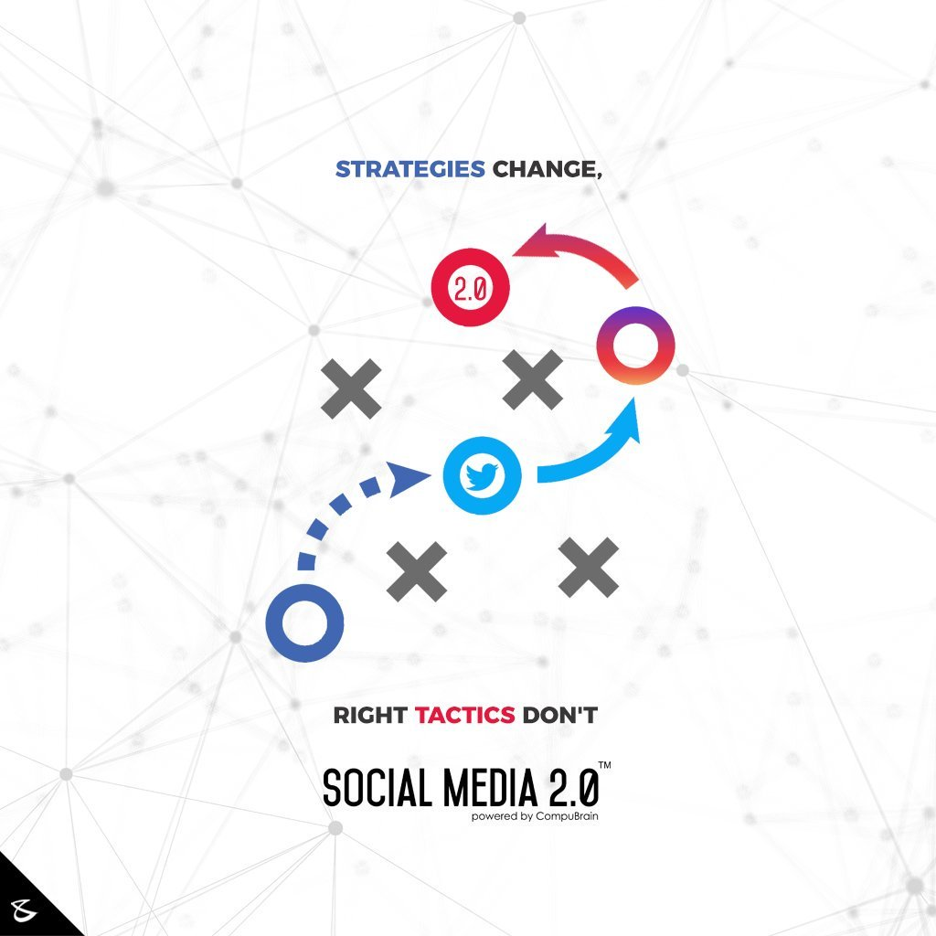 Strategies Change, Right #Tactics Don't  #SearchEngineOptimization #SocialMedia2p0 #sm2p0 #contentstrategy #SocialMediaStrategy #DigitalStrategy #DigitalCampaigns #CompuBrain #Business #Technology #Innovations https://t.co/x7EuD7ajh8